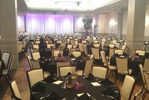 Prairie Rose Ballroom at the Avalon / The Prairie Rose ballroom is 5,000 square feet and can seat up to 325 people.