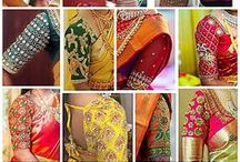 blouse designs indian embroidery