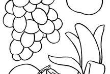 Marjat, kasvikset, hedelmät