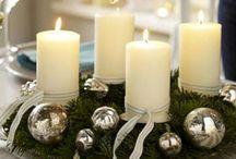 centros de mesas de Navidad