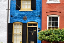 """EXTERIOR  COLOUR  COMBO'S / """"I believe that colour can make a dramatic impact in the way we look at our homes"""""""