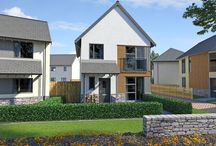 Yarners Mill, Dartington, Devon / A contemporary development of just 30 2, 3 and 4 bedroom homes in the village location of Dartington, South Devon.