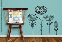 wall decal ideas / by Mandy Ford