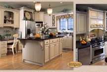 French Dignity - Showplace Cabinets / Covington Door Style