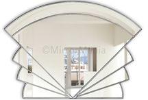 Art Deco Fan Mirrors