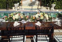 Wedding Tabletops & Linens / Allow us to create a lifetime of wonderful memories for YOU, friends and family at The Escalante hotel!