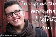 Seeking Increase- Blog Posts / Creating work you love!