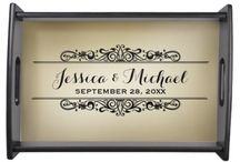 Personalized Serving Trays / by JD_Sanders