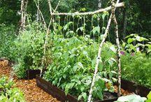 opory, konstrukce - zahrada