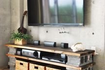 Easy make tv stand