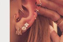Piercing orelha