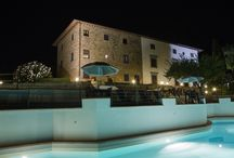 By Night / The atmosphere at Borgo La Casaccia , after the sunset