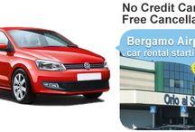 Car Rental Bergamo Airport / Hire rental car at Bergamo Airport.