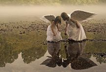 "༺♥༻ Angel Wings ༺♥༻ / ""Every time a bell rings an angel gets their wings"" / by Kammy Jaggers"