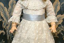 bebek dantel elbise