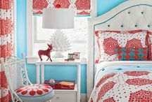 home // red & blue nursery / by Amanda Miller