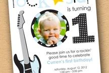 Baby Boy Birthday Party Ideas