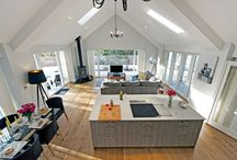 Coach house / Beams , large spaces, open plan living