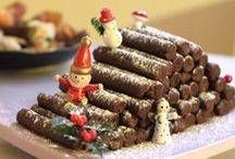 gâteau noel