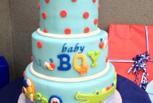 Holly baby shower ideas whale theme  / by Lyna Hoang