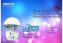 Mosquito Killer / Mosquito M trap The beauty of M-Trap lies in its elegance and simplicity with royal feel. www.elecwire.com
