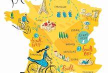 design - map inside / great inspirations for map design