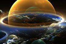 Dando una vuelta por ahí fuera... ... Joyas del Universo))) / El universo es la totalidad del espacio y del tiempo, de todas las formas de la materia, la energía y el impulso, las leyes y constantes físicas que las gobiernan.