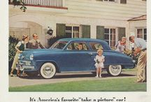 Studebaker Car Ads / Vintage Car Advertisements