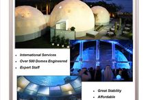Dome Structures / All about Domes!