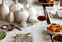 Thanksgiving Decorations  / Gobble up your favorite decorations with bold colors.