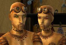 Sims 2 - Theme - Steampunk