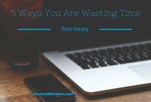 Get Organized / Organizing life, finances, home, work, travel.