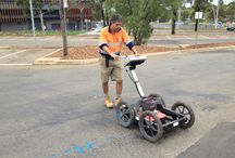 Ground Penetrating Radar / GPR offers underground imaging technology and records natural and man-made features and can detect all material types.