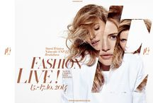 Fashion Live! /  FL! is the very first event that brings catwalks of Slovak and foreign designers to wide public. Professionaly created program structure including catwalks, seminars, performances or business oriented showrooms offers range of experience to wide public.