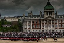 Trooping the Colour / A selection of pictures from the Queen's birthday parade, at Horseguards, London, June 2013.