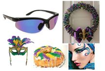 March is Mardi Gras / The days before lent - Fat Tuesday is a day of 'letting the good times roll'. And if your celebration includes being outside, don't forget your Solar Shield clipons. They easily attach to your prescription glasses converting them into prescription SUNglasses.  www.solarshield.com