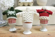 Egg cup cosies