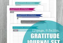 Gratitude Journal  / Gratitude Journals