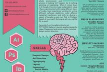 Visual Resume CV Design / by Mrs Guss