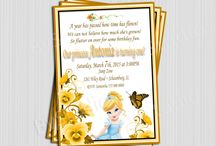 Birthday invitation girls