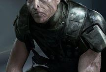 Cyberpunk:Human Characters / Characters for Modern/Cyberpunk Setting
