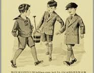 oude kleding en oude reclame