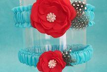 Tiffany Blue & Red Wedding Ideas / by Mary Ebraheem