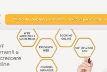 Turismo Online / Progettiamo soluzioni integrate per la distribuzione turistica online. Forniamo consulenza, formazione e soluzioni chiavi in mano per strutture ricettive, agenzie di viaggio, tour operator, portali turistici. / by Bizcom.it Web Agency