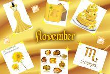 November / My Birthday month! / by Teena Fields-Williams