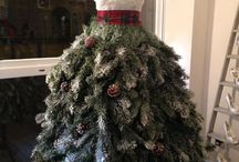 Christmas: Dress Form Trees