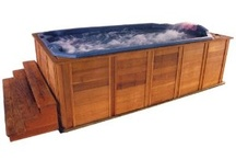 Swim Spas/Unique Pools / by Shelly Usher