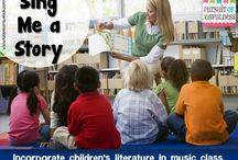 Incorporating music and children's literature connection