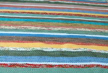 For the Home / Hand woven rag rug