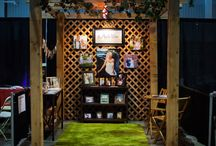 Bridal Show / Booth Ideas for Photography / Wedding booth and photography booth / trade show ideas.
